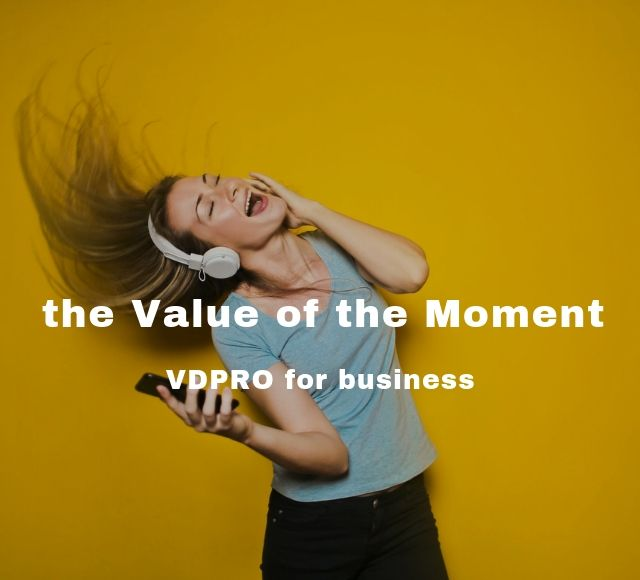 the Value of the Moment