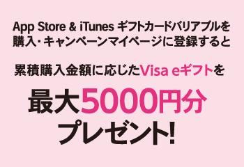 セブン‐イレブン  App Store & iTunesギフトカード  Visa eギフトプレゼントキャンペーン!お知らせ